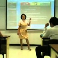 Professora Asiática Muito Irritada