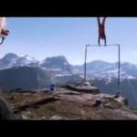 Homem sobrevive após despencar de uma altura de 1.200 metros