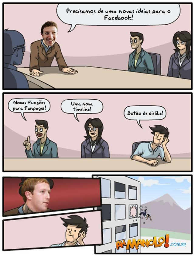 Novas ideias para o Facebook