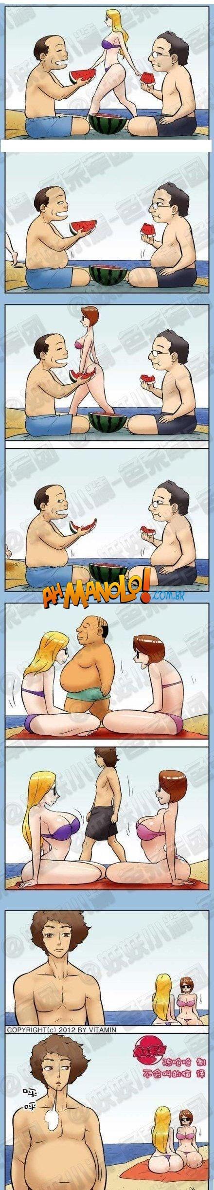 A realidade que acontece nas praias..