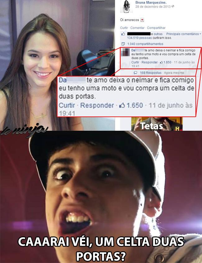 Depois disso, é bem certo que Bruna Marquezine vai abandonar Neymar...