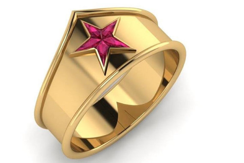 10 anéis de casamento que encantam os nerds...
