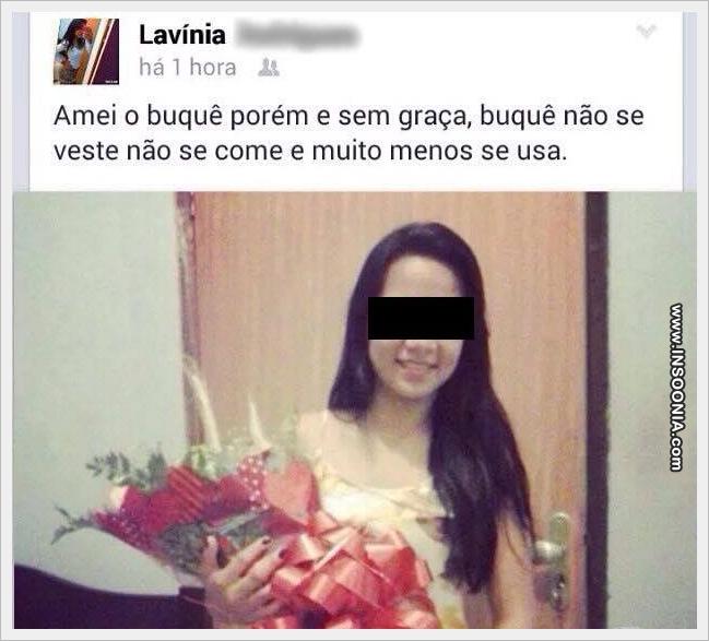Sinceridade no Facebook...