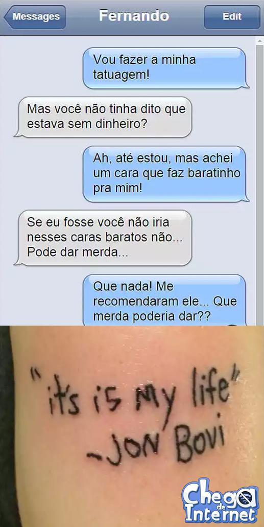 Escolha BEM quem vai fazer uma Tatuagem em você...