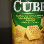 Biscoito Waffer de Leite Oriental Jaker Cube
