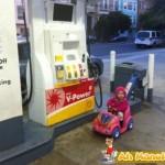 Enchendo o combustivel