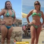 perda de peso antes e depois