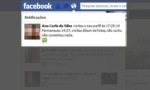 Facebook exibirá os visitantes do seu perfil