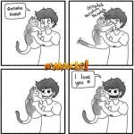 tirinha gatos